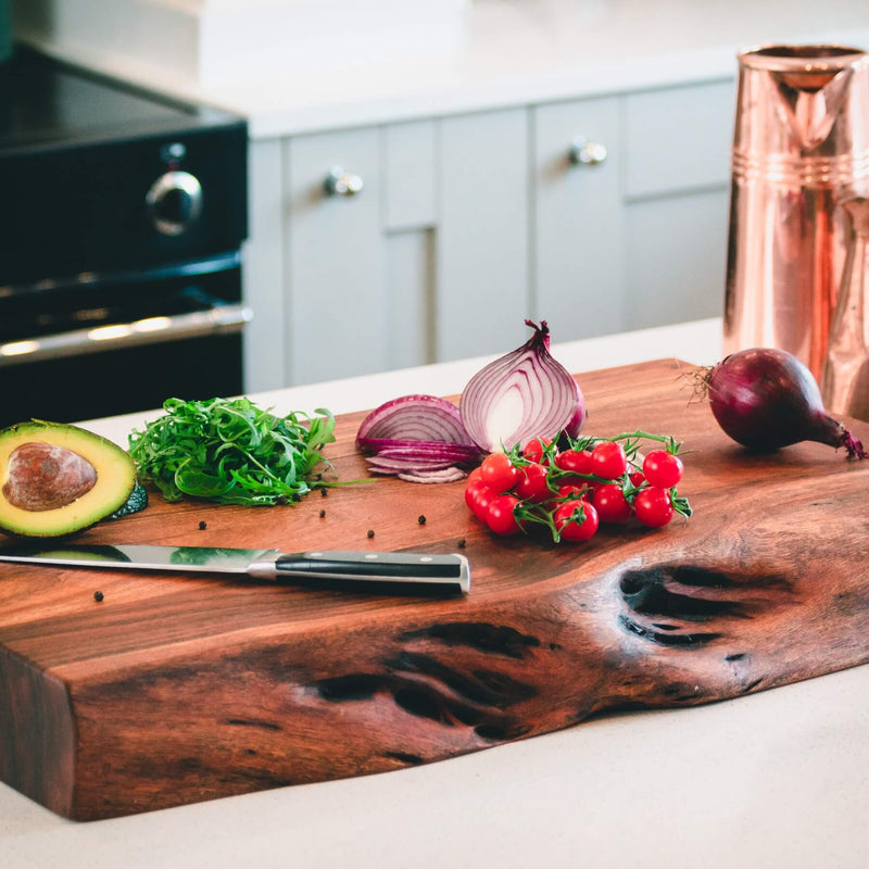 Handcrafted Acacia Wood Large Chopping Board