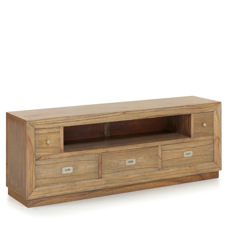 3+2 Drawers 1 Shelf Media Unit