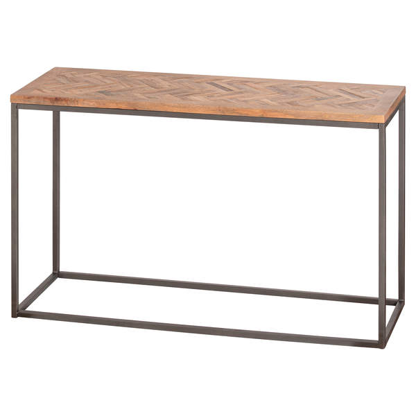 Acacia Wood Tabletop Console Table