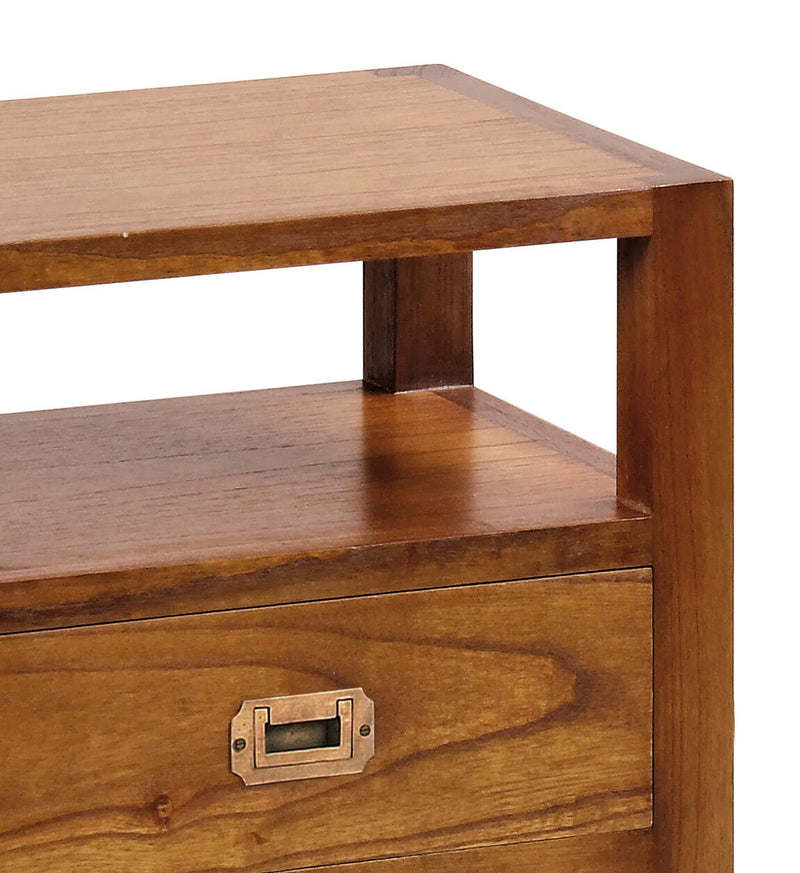 Star - 2 Drawer Bedside, Mindi Wood