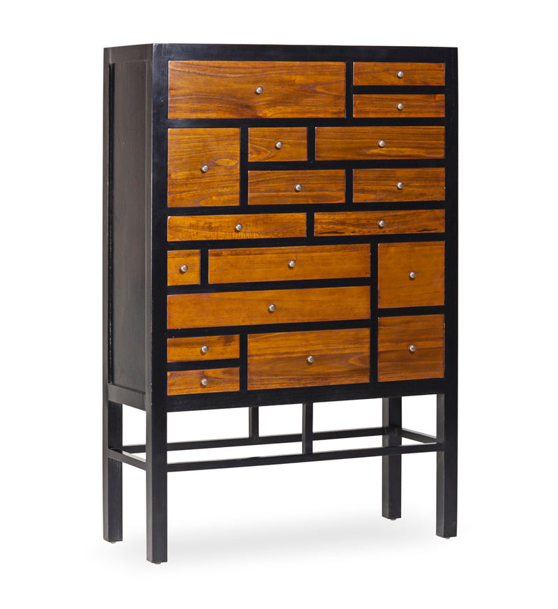 Elesio - 18 Drawer Chest, Mindi Wood