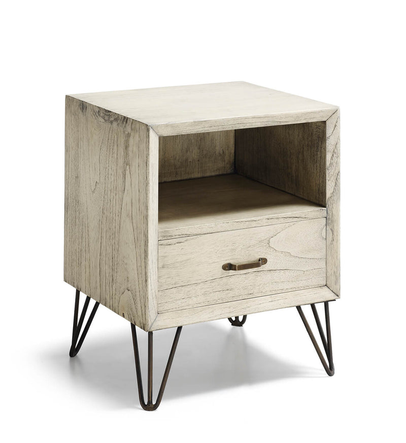 Muria - 1 Drawer 1 Shelf Bedside Table