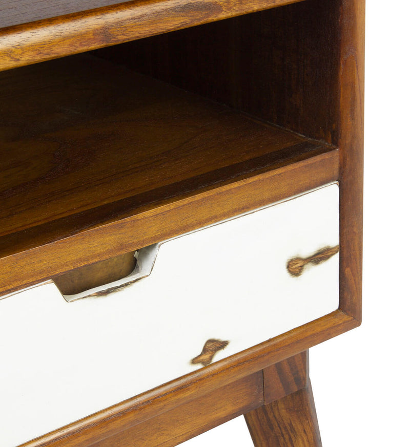 Scandic 1 Drawer 1 Shelf Bedside