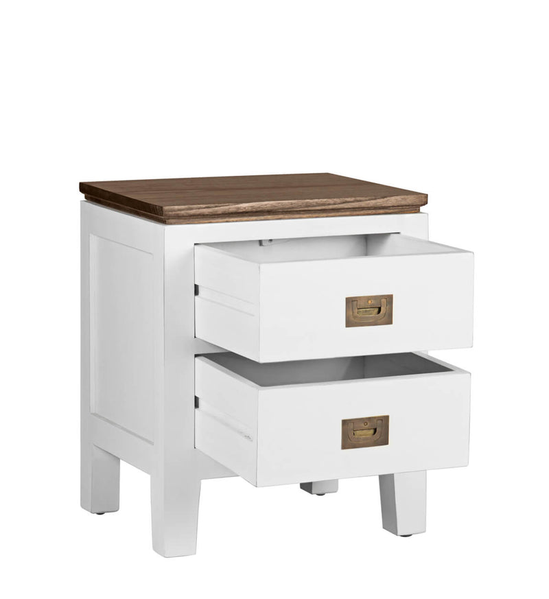 Everest - 2 Drawer Bedside Table