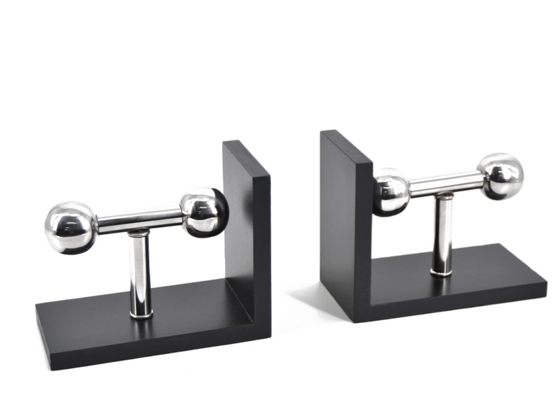 Ebbo - Aluminium & MDF Bookend