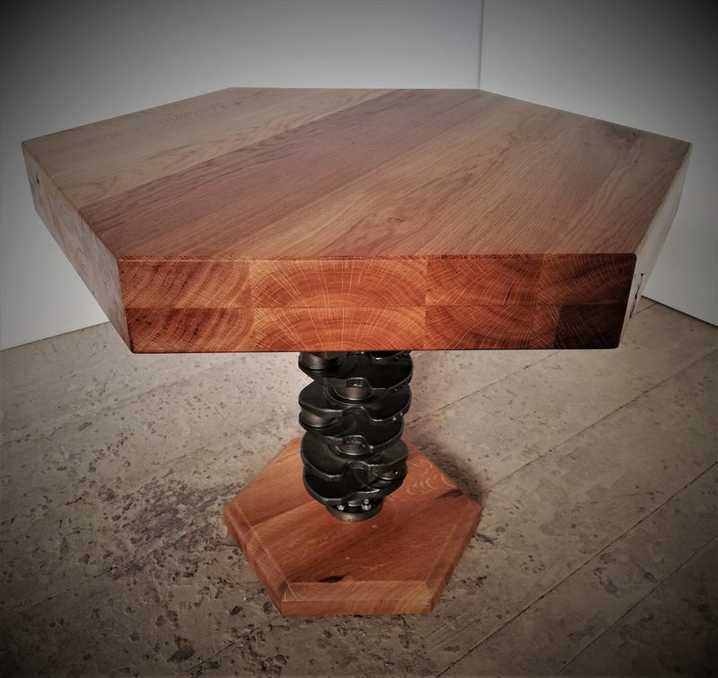 Crankshaft Leg Table