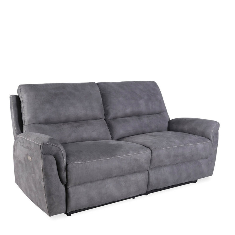 Basil - Electric Recliner Sofa, Grey