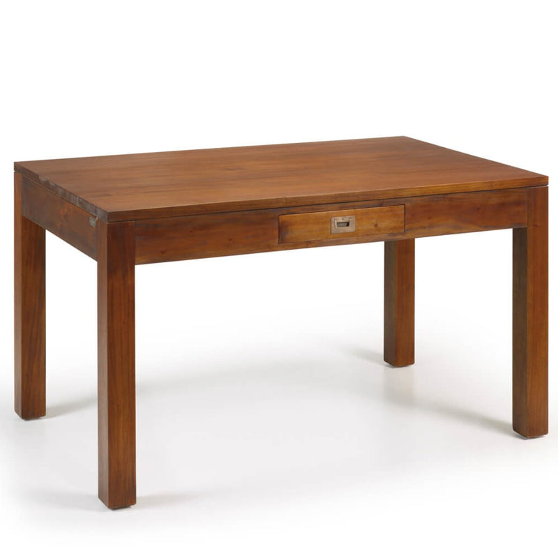 Mahogany 2 Drawers Dining Table