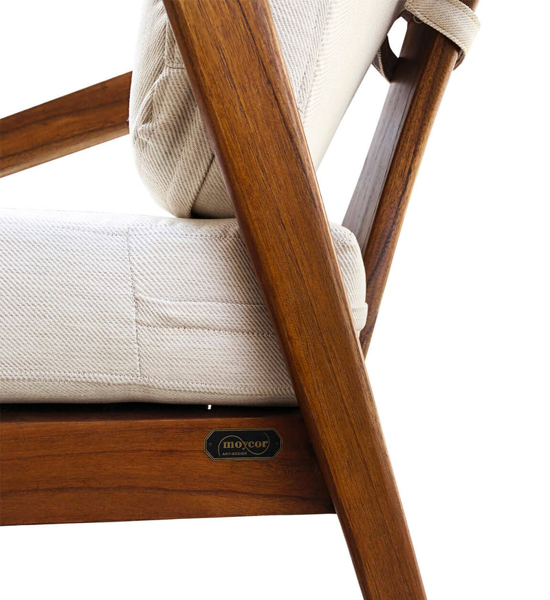 Lewis - Mindi Wood Armchair