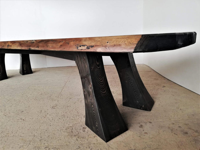Vintage Live Edge Table