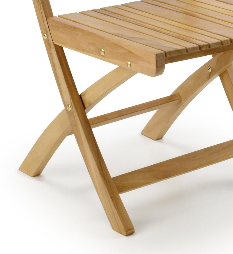Outdoor Irregular Slats Chair
