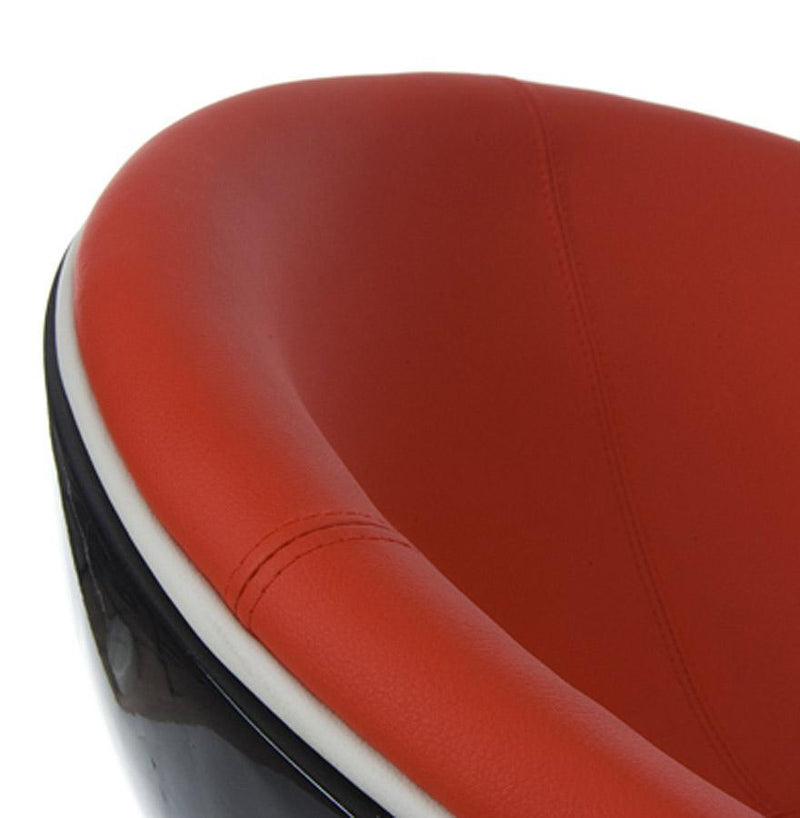 Retro Leather Padded Armchair - HM_FURNITURE