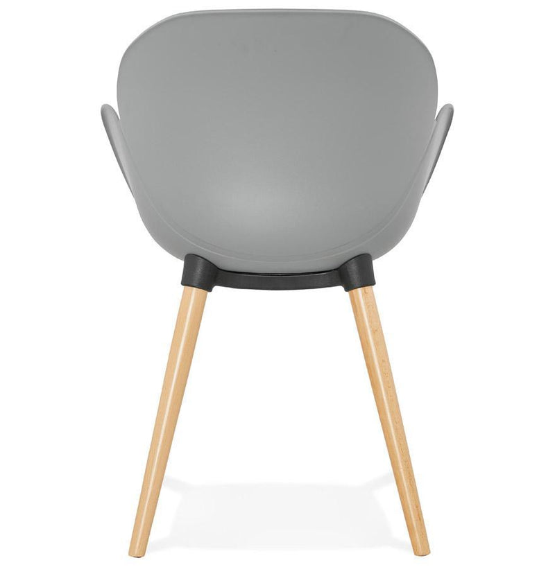 Grey Nordic Style Armchair - HM_FURNITURE