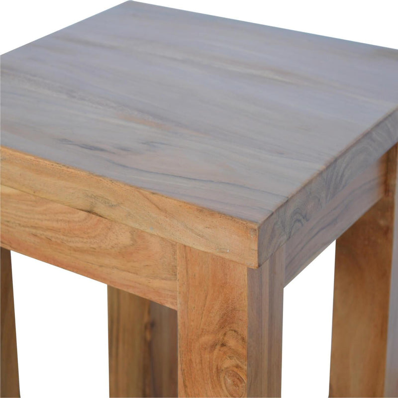 Handcrafted Rustic Coffee Table - HM_FURNITURE