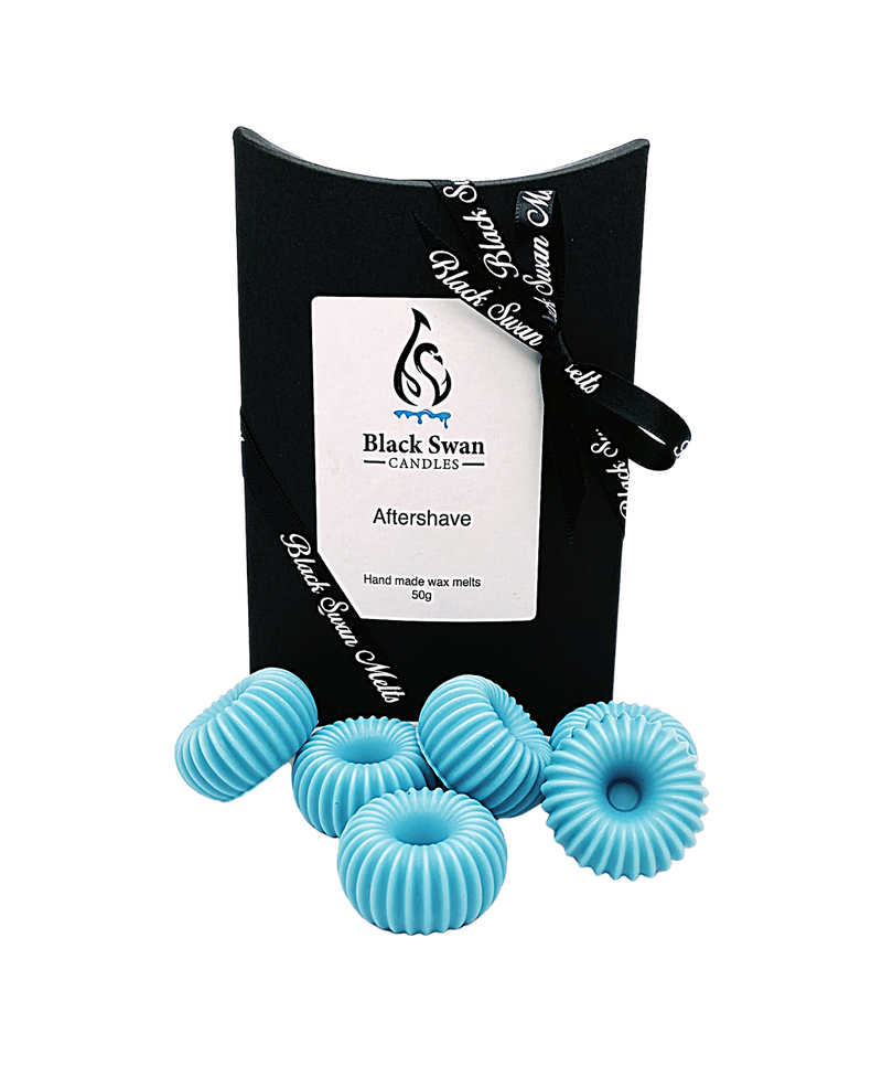 Black Swan Candles - Aftershave Wax Melts