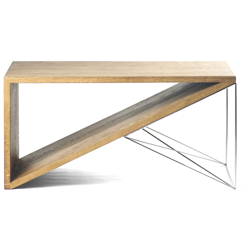 Oak Wood Coffee Table