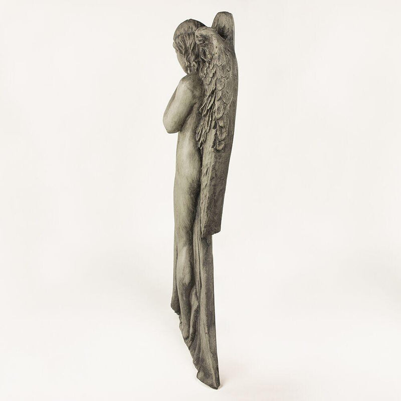 Wall Mounted Resin Antique Angel - HM_FURNITURE