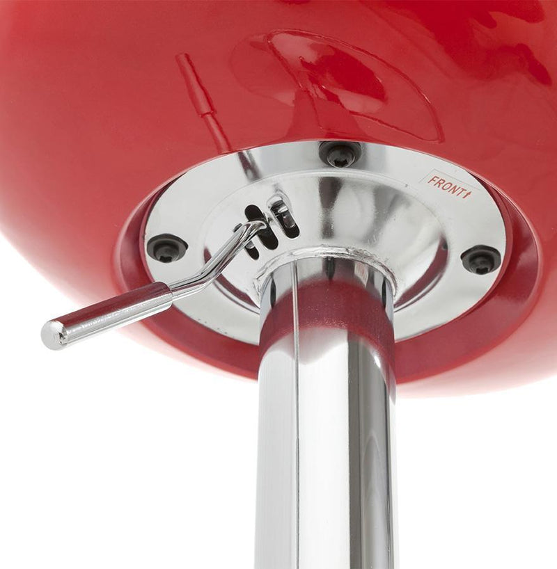 Chrome Steel and ABS 360° Degree Bar Stool - HM_FURNITURE