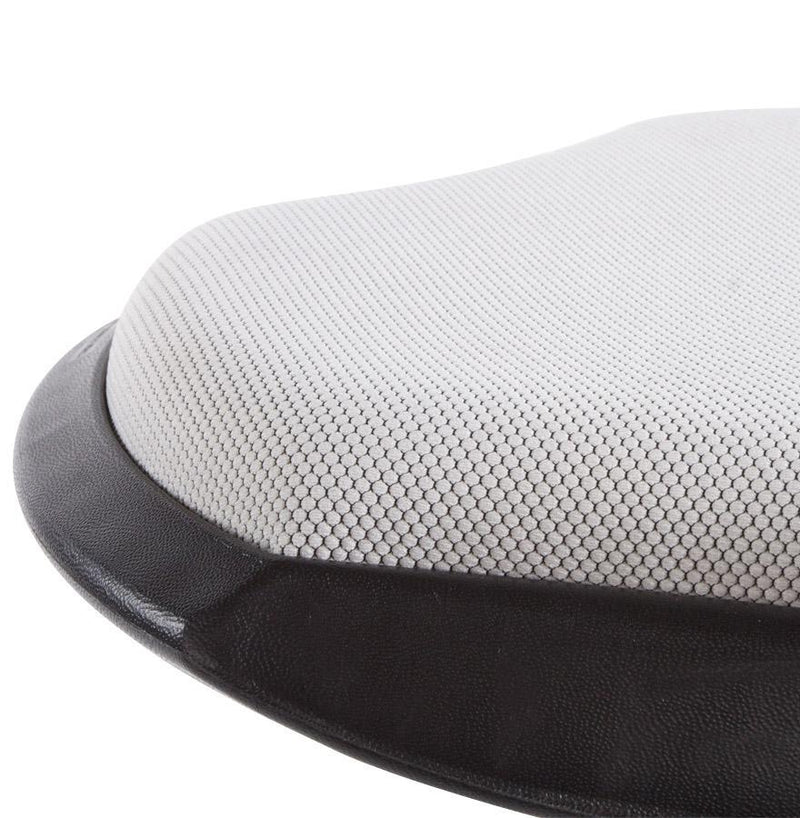 ABS and Textile Ergonomic Bar Stool - HM_FURNITURE