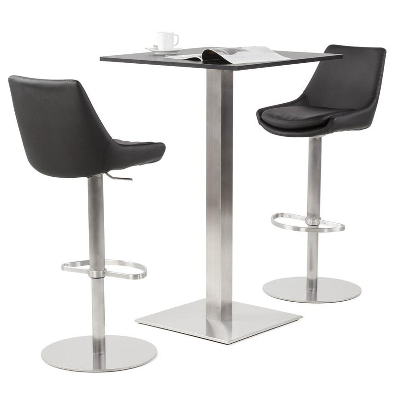 Vevo - 360° Adjustable Bar Stool With Padded Seat - HM_FURNITURE