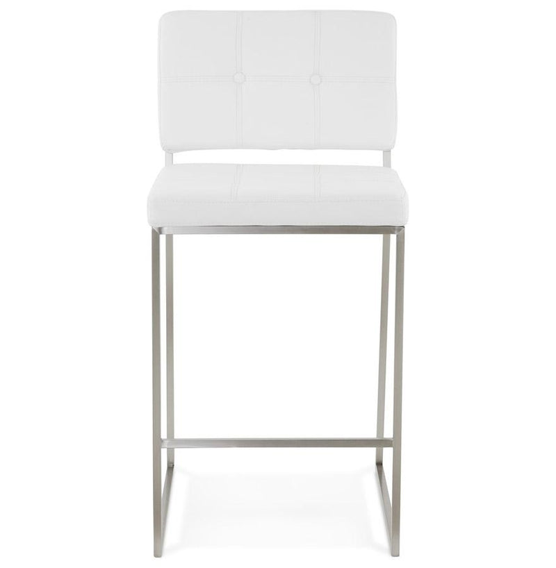 Ely - Elegantly Designed Bar Stool in White or Black - HM_FURNITURE