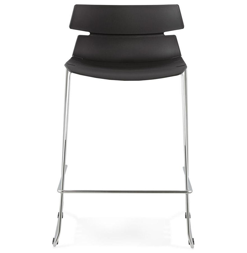 Marco - Modern Bar Stool In White or Black 85 CM - HM_FURNITURE