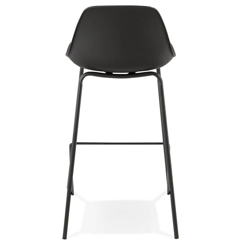 Elise - Modern Bar Stool With Imitation Leather Seat and Metal Base 86.5 CM - HM_FURNITURE