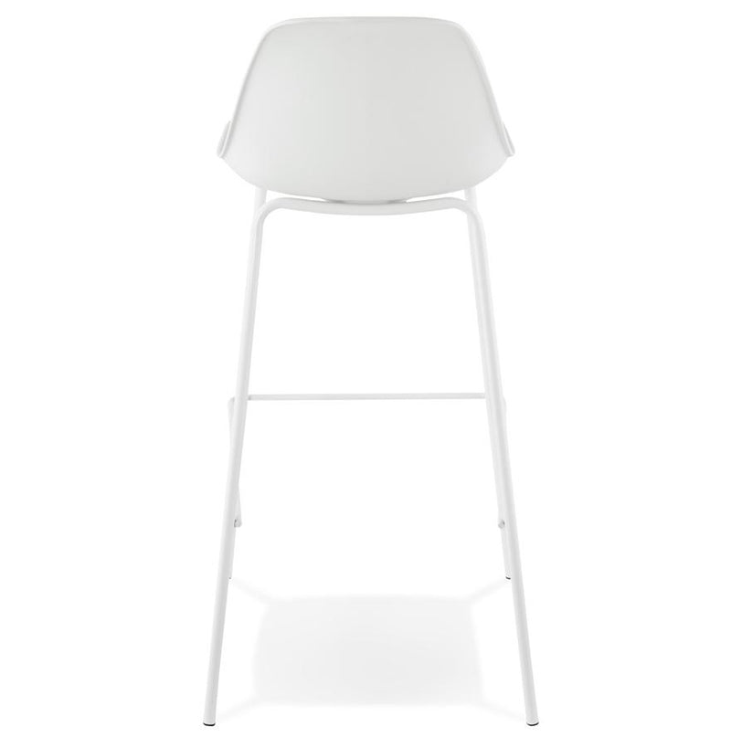 Elise Midi - Modern Bar Stool With Imitation Leather Seat and Metal Base 95.5 CM - HM_FURNITURE