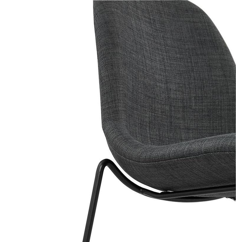 Andy Mini - Modern Bar Stool With Denim Fabric Seat - HM_FURNITURE