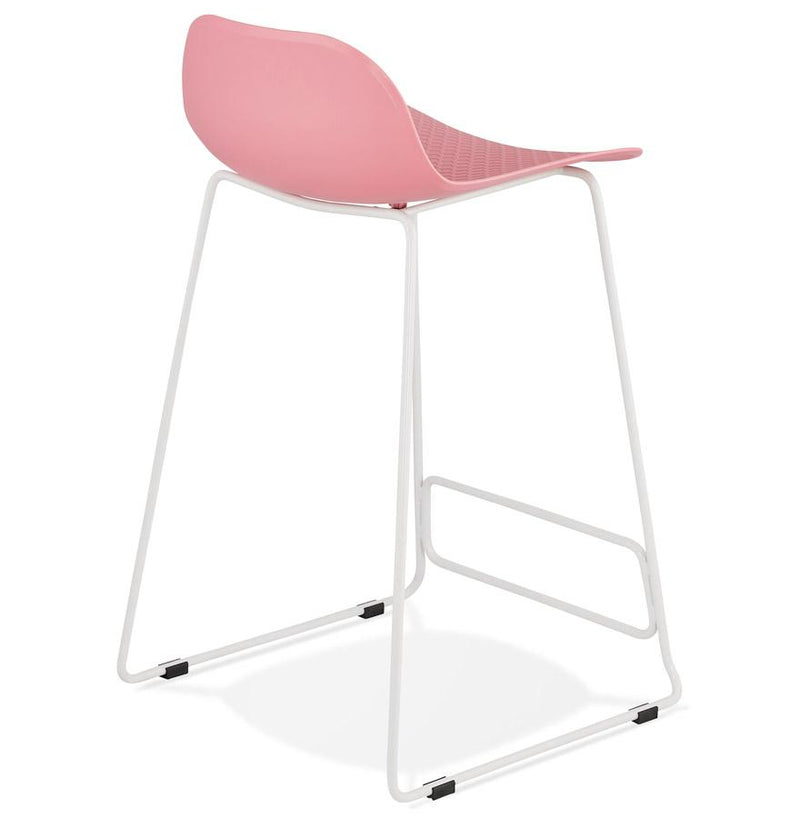 Jade Mini - Modern Bar Stool in Pink, Blue, Grey, Black or White 85 CM - HM_FURNITURE