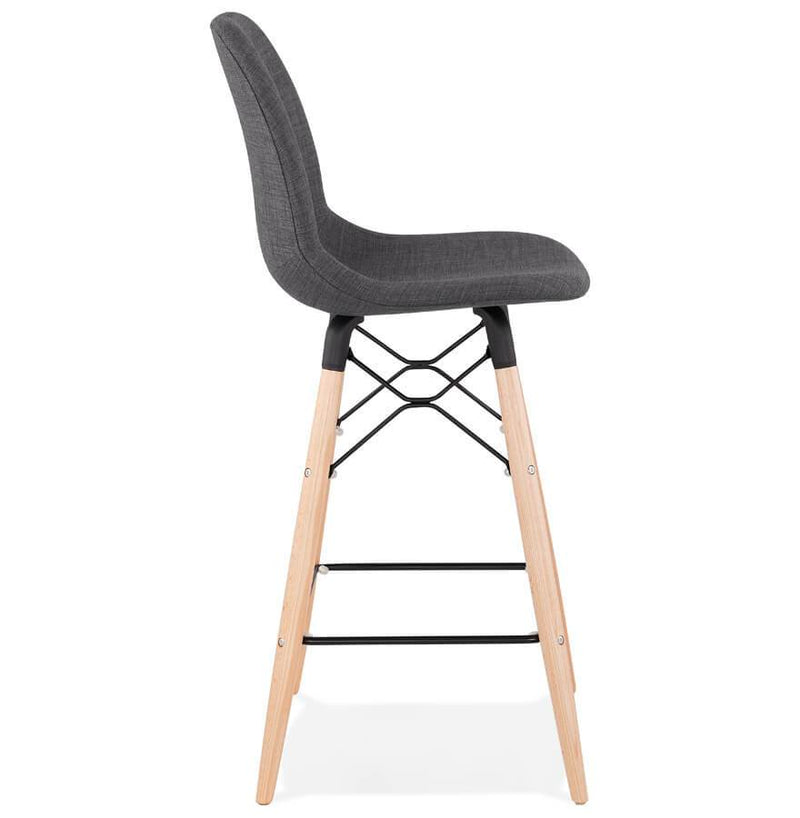 Kristin - Scandinavian Style Bar Stool With High Quality Fabric Seat 107 CM - HM_FURNITURE