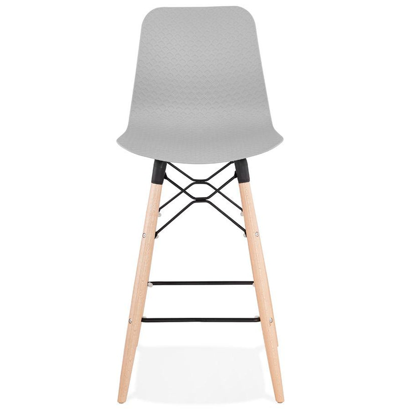 Detroit - Scandinavian Style Bar Stool in Pink, Blue, Grey, Black and White - HM_FURNITURE
