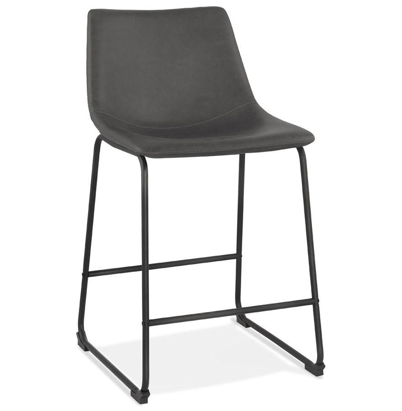 Ederne III - Vintage Inspired Bar Stool With Padded Seat - HM_FURNITURE