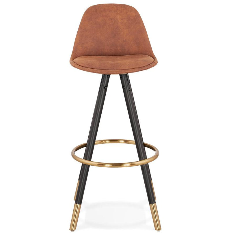 Henning - Bar Stool With Velour Seat - HM_FURNITURE