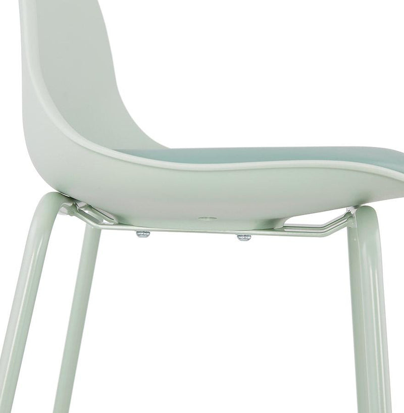 Elesio - Bar Stool With Padded Imitation Leather Seat - HM_FURNITURE