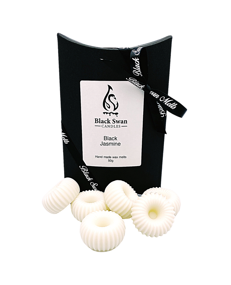 Black Swan Candles - Black Jasmine Wax Melts