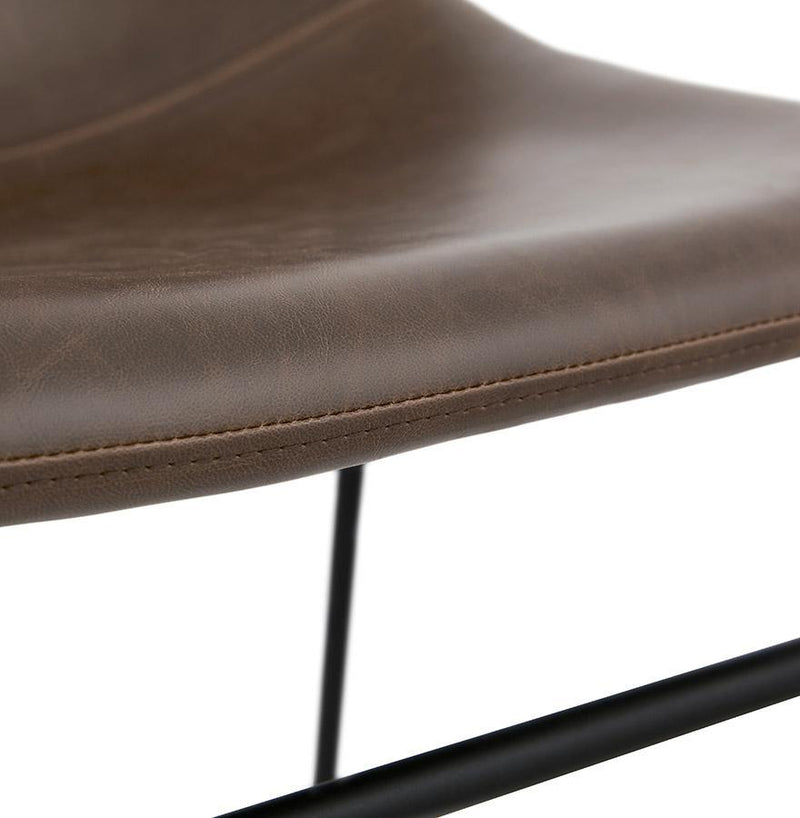 Julius Faux Leather Chair - HM_FURNITURE