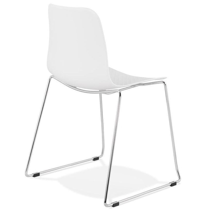 Ederne - Modern Chair With Sleigh-Design Base 82.5 CM - HM_FURNITURE