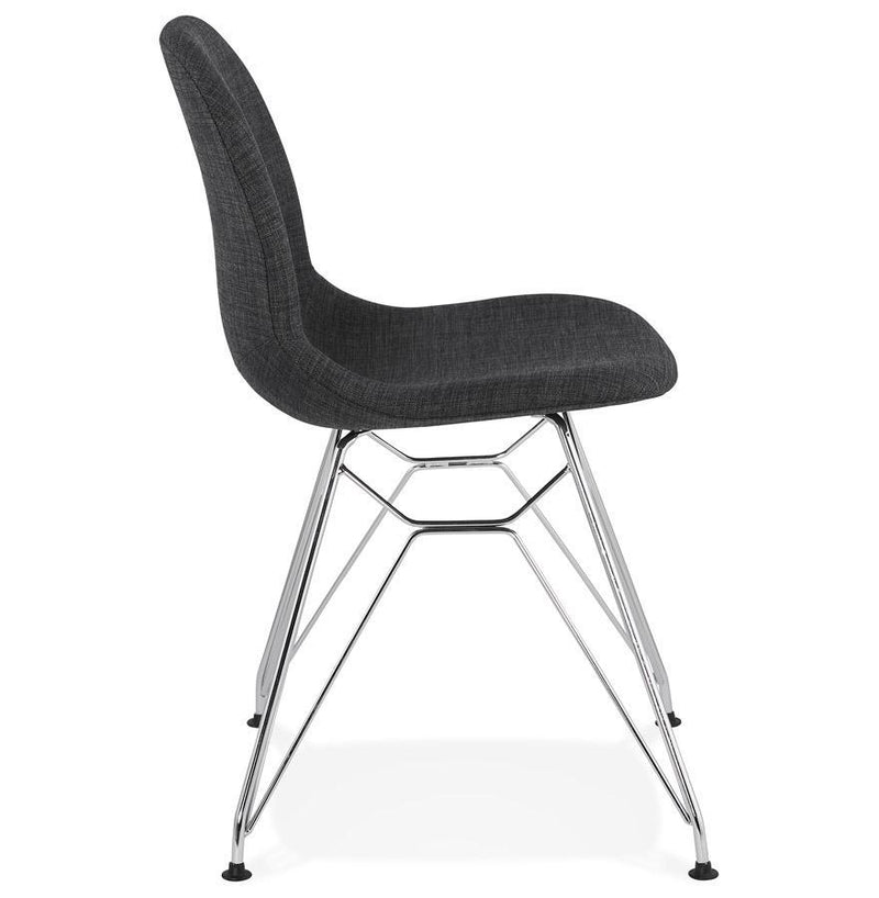 Julia Futuristic Metal Base Chair - HM_FURNITURE