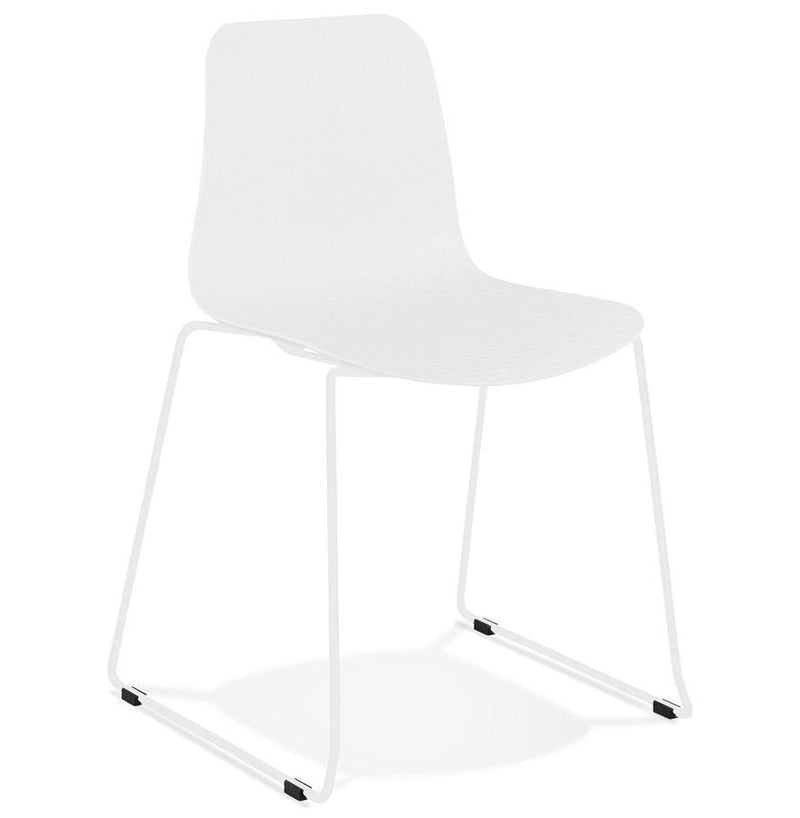 Luca Sleigh-Design Base Chair - HM_FURNITURE