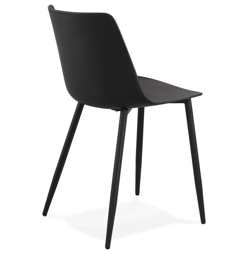 Semplice Robust Chair With Thermo-Lacquered Metal Base - HM_FURNITURE