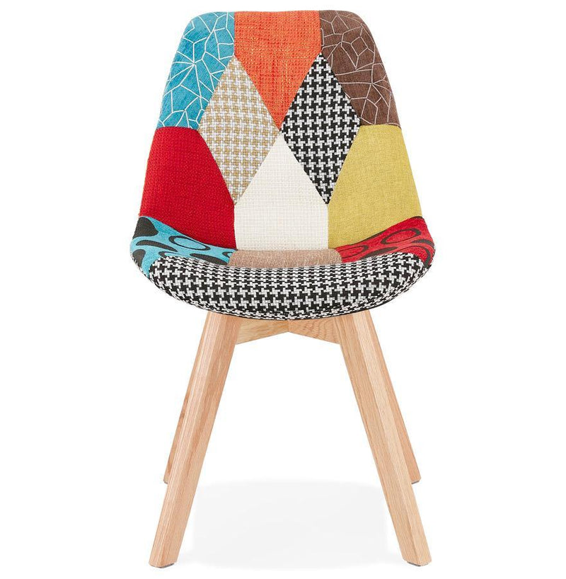 Kari Multicoloured Scandinavian Chair - HM_FURNITURE
