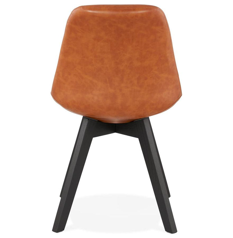 Celeste Faux Leather Elegant Chair - HM_FURNITURE