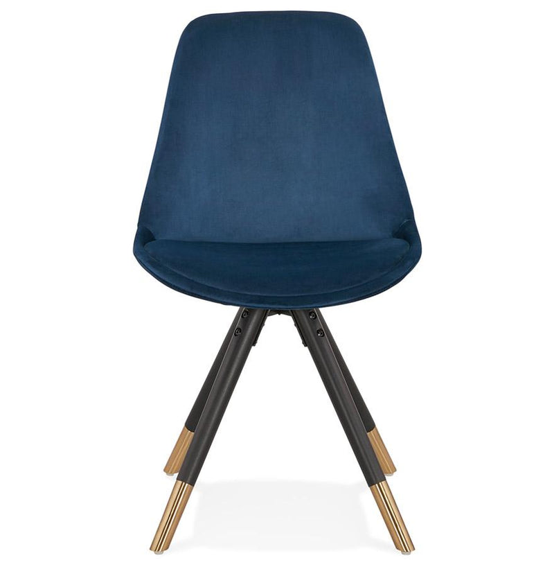 Enzo Retro Velour Chair - HM_FURNITURE