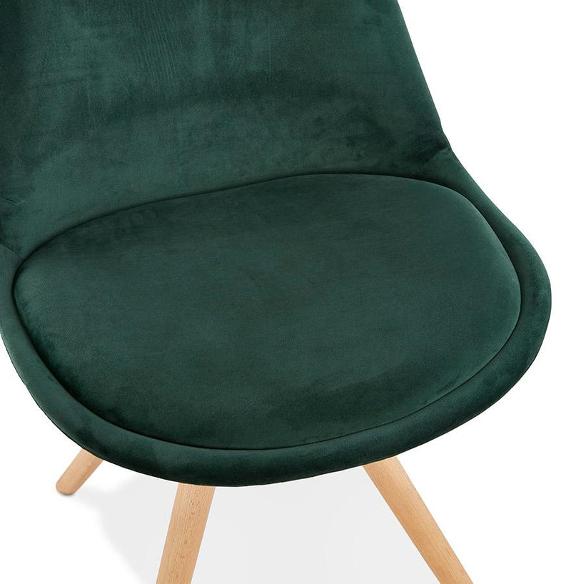 Lorenzo Velour-Covered Vintage Chair - HM_FURNITURE