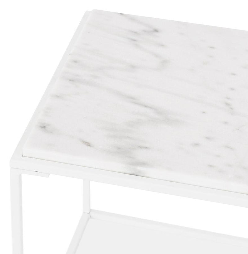 Helen Mini - Console Table With Marble Top 45 CM - HM_FURNITURE