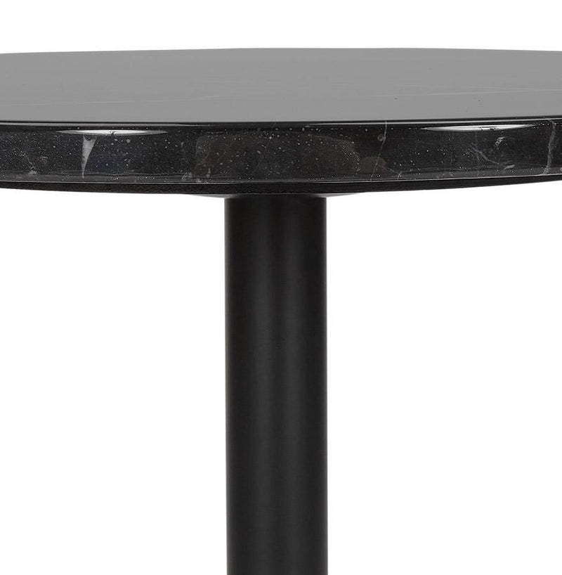 Medina - Console Table With Metal Base and Marble Top 50 CM - HM_FURNITURE