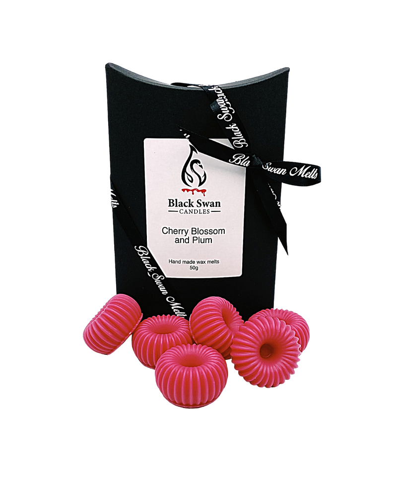 Black Swan Candles - Cherry Blossom & Plum Wax Melts