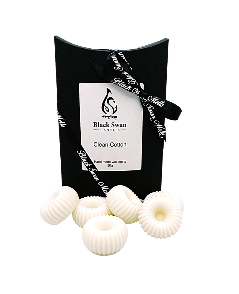 Black Swan Candles - Clean Cotton Wax Melts