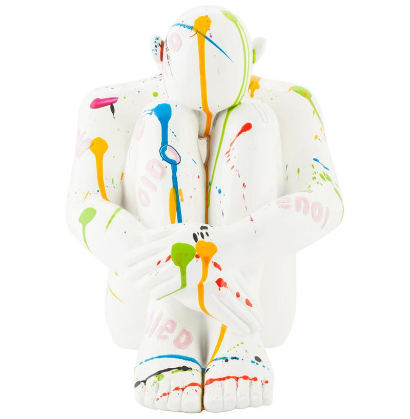 Ely - Colourful Resin Contemporary Statue 35 CM - HM_FURNITURE